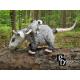 Virginia Opossum Family Dolls 3D Cross Stitch Animals Sewing Patterns PDF Download