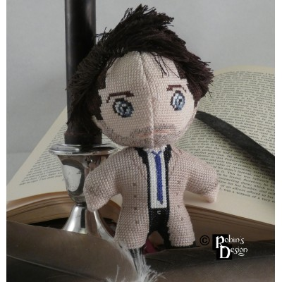 Castiel Doll 3D Cross Stitch Sewing Pattern PDF Download