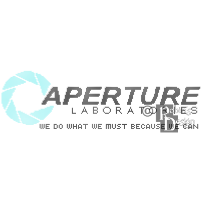 Aperture Laboratories Logo Cross Stitch Pattern PDF Download