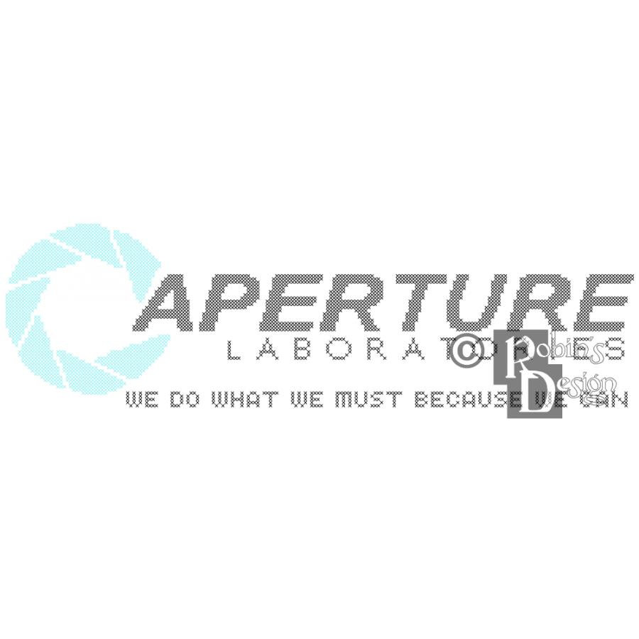 Aperture Laboratories Logo Cross Stitch Pattern PDF Download